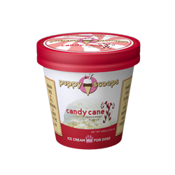 Puppy Scoops Ice Cream Mix - Candy Cane Exp. 8.15.19 Ice Cream for dog, DIY treats for dogs, Puppy Scoops, Carob Ice Cream for Dogs, Homemade Ice Cream for dogs, Healthy treats for dogs, Carob Puppy Scoops, Puppy Scoops, Real Ice for Dogs, healthy ice cream for dogs, frozen treats for dogs, dog treats, homemade treats for dogs, fun treats to make for your dog,